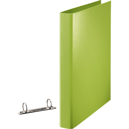 Esselte Ringbuch DIN A4, grün, 2-Ring-Reißmechanik