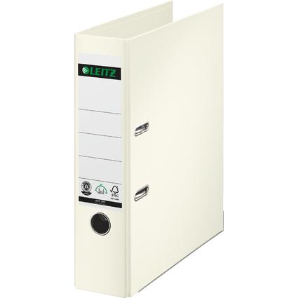 LEITZ Vollpapier-Ordner, 180 Grad, DIN A4, 80 mm, weiß