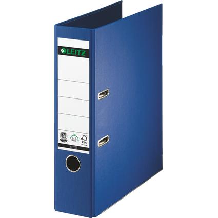 LEITZ Vollpapier-Ordner, 180 Grad, DIN A4, 80 mm, blau