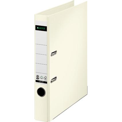 LEITZ Vollpapier-Ordner, 180 Grad, DIN A4, 50 mm, weiß