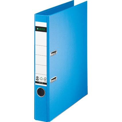 LEITZ Vollpapier-Ordner, 180 Grad, DIN A4, 50 mm, hellblau