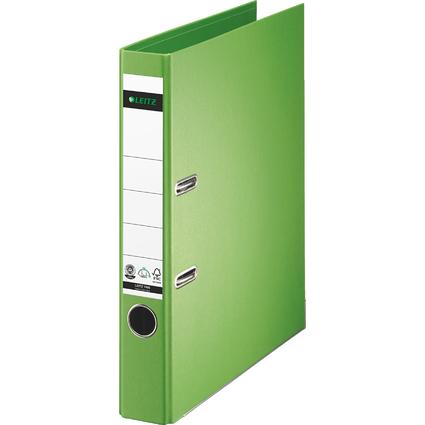 LEITZ Vollpapier-Ordner, 180 Grad, DIN A4, 50 mm, hellgrün