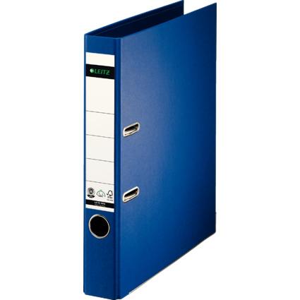 LEITZ Vollpapier-Ordner, 180 Grad, DIN A4, 50 mm, blau