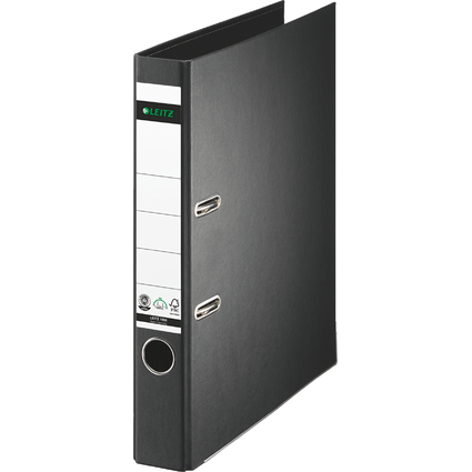 LEITZ Vollpapier-Ordner, 180 Grad, DIN A4, 50 mm, schwarz
