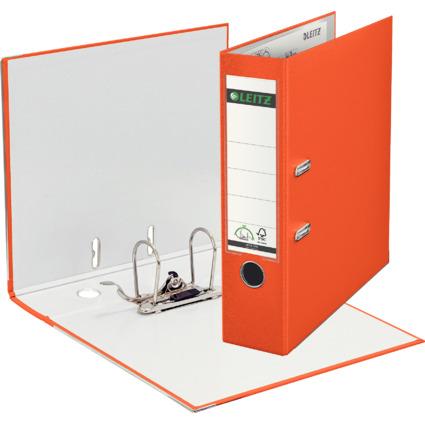 LEITZ 180 Grad Ordner, DIN A4, 80 mm, orange