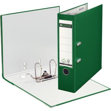 LEITZ 180 Grad Ordner, DIN A4, 80 mm, grün