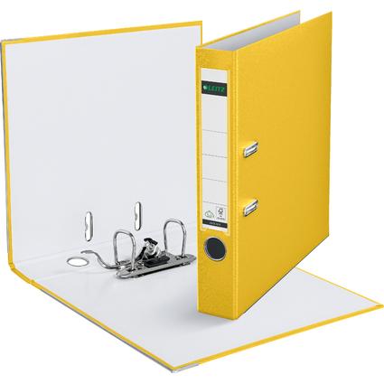 LEITZ 180 Grad Ordner, DIN A4, 52 mm, gelb