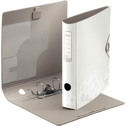 LEITZ Ordner Active Bebop, 180 Grad, 60 mm, weiß