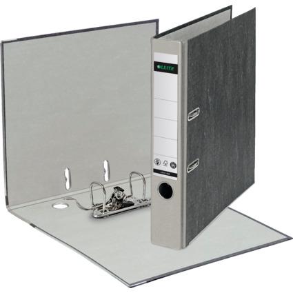 LEITZ Wolkenmarmor-Ordner, 180 Grad, DIN A4, 52 mm, grau