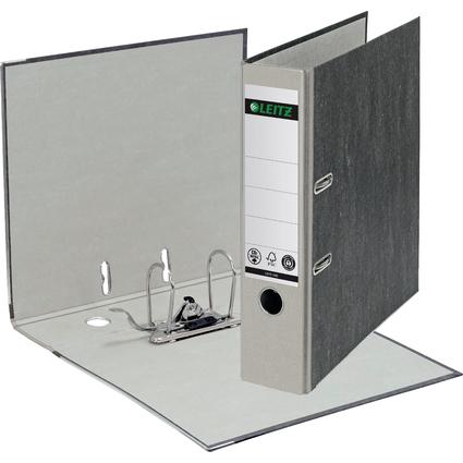 LEITZ Wolkenmarmor-Ordner, 180 Grad, DIN A4, 80 mm, grau