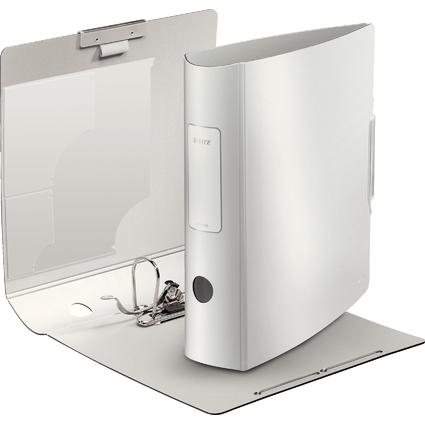 LEITZ Ordner Active Style, 180 Grad, 80 mm, arktik-weiß