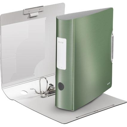 LEITZ Ordner Active Style, 180 Grad, 80 mm, seladon-grün