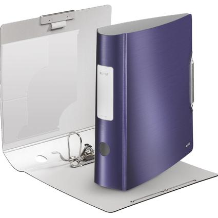 LEITZ Ordner Active Style, 180 Grad, 80 mm, titan-blau