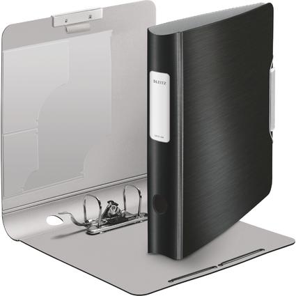 LEITZ Ordner Active Style, 180 Grad, 60 mm, satin-schwarz