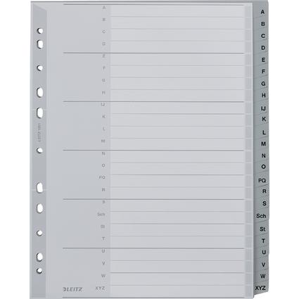 LEITZ Kunststoff-Register, A-Z, A4 Überbreite, 24-teilig