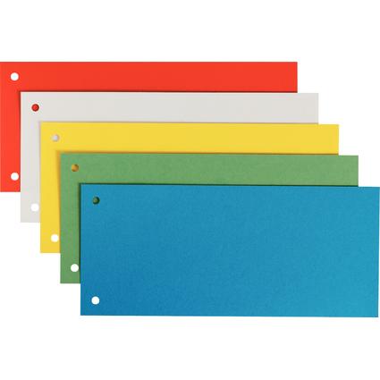 LEITZ Trennstreifen, für DIN A4 Format, sortiert