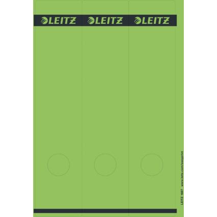 LEITZ Ordnerrücken-Etikett, 61 x 285 mm, lang, breit, grün