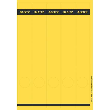 LEITZ Ordnerrücken-Etikett, 39 x 285 mm, lang, schmal, gelb