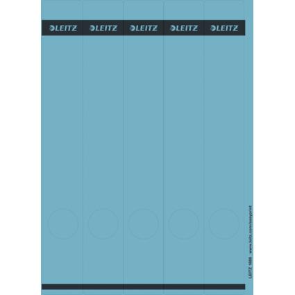 LEITZ Ordnerrücken-Etikett, 39 x 285 mm, lang, schmal, blau