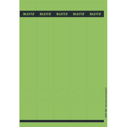 LEITZ Ordnerrücken-Etikett, 39 x 285 mm, lang, schmal, grün