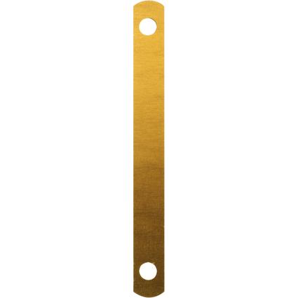 LEITZ Abdeckschienen, für DIN A4 Format, gold lackiert