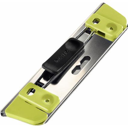 LEITZ Taschenlocher Active, Stanzleistung: 2 Blatt, grün