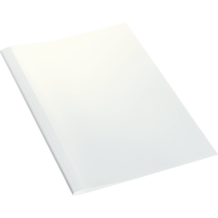 LEITZ Thermobindemappe Standard, DIN A4, 6 mm, weiß