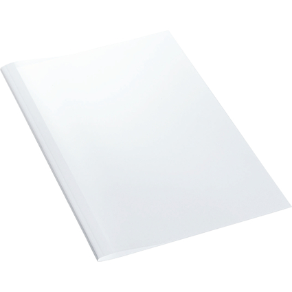 LEITZ Thermobindemappe Standard, DIN A4, 8 mm, weiß