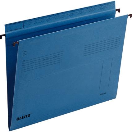 LEITZ SERIE 18 Hängemappe, A4, seitlich offen, blau