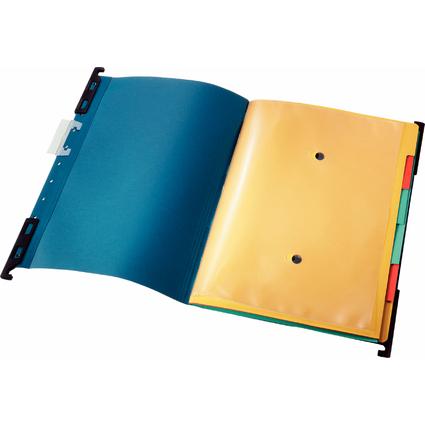 "LEITZ Mobile Ordnungs-Hängemappe ""Divide-It-Up"", A4, blau"