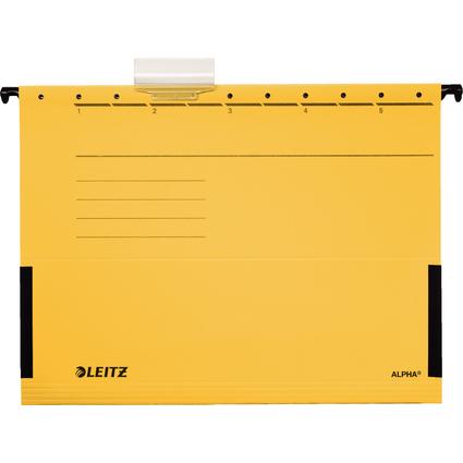 LEITZ ALPHA Hängetasche, A4, mit Fröschen, gelb