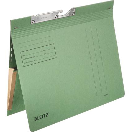 LEITZ Pendelhefter, mit Dehntasche, A4, grün