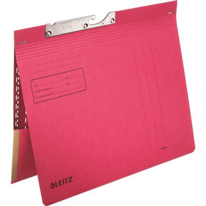 LEITZ Pendelhefter, mit Tasche, A4, rot