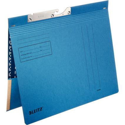 LEITZ Pendelhefter, mit Tasche, A4, blau