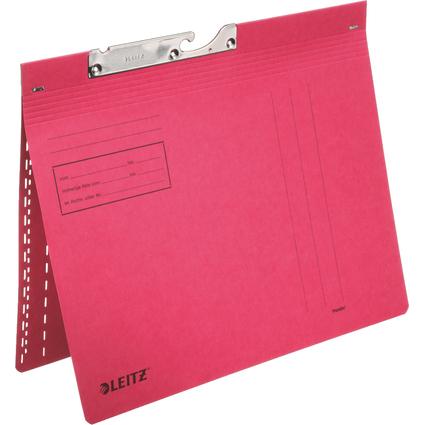 LEITZ Pendelhefter, A4, kaufmännische Heftung, rot