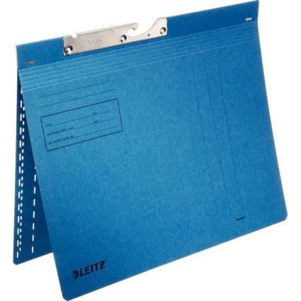LEITZ Pendelhefter, A4, kaufmännische Heftung, blau