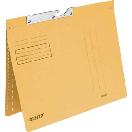 LEITZ Pendelhefter, A4, kaufmännische Heftung, gelb