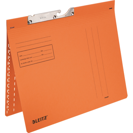 LEITZ Pendelhefter, A4, kaufmännische Heftung, orange