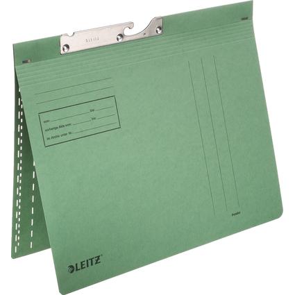 LEITZ Pendelhefter, A4, kaufmännische Heftung, grün