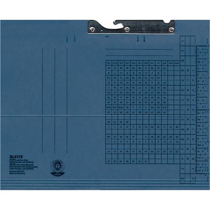 LEITZ Pendelmappe, A4, seitlich offen, blau