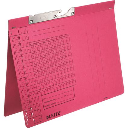 LEITZ Pendelhefter, A4, Behördenheftung, rot, 320 g/qm