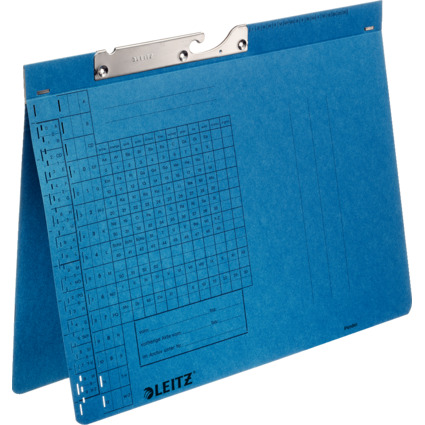 LEITZ Pendelhefter, A4, Behördenheftung, blau, 320 g/qm