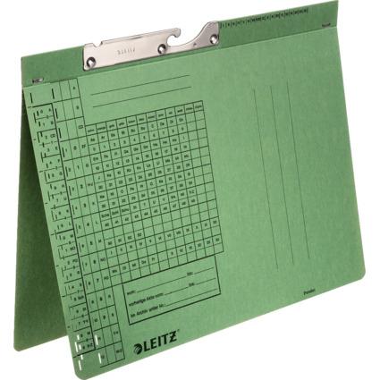 LEITZ Pendelhefter, A4, Behördenheftung, grün, 320 g/qm