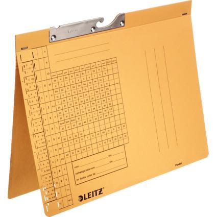 LEITZ Pendelhefter, A4, Behördenheftung, gelb, 250 g/qm