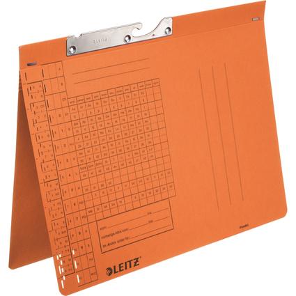 LEITZ Pendelhefter, A4, Behördenheftung, orange, 250 g/qm