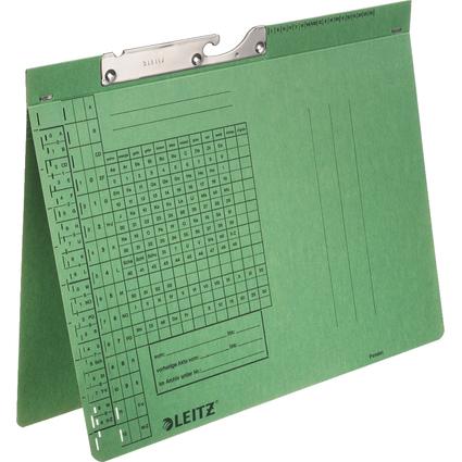 LEITZ Pendelhefter, A4, Behördenheftung, grün, 250 g/qm