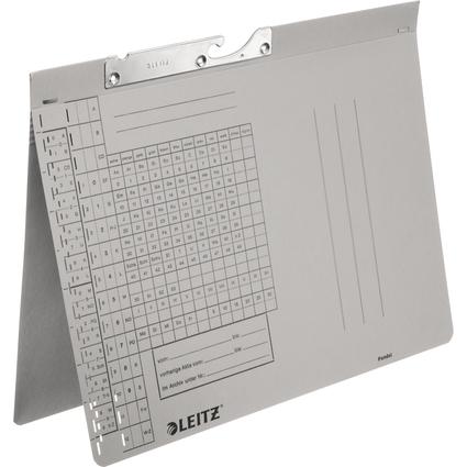 LEITZ Pendelhefter, A4, Behördenheftung, grau, 250 g/qm