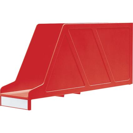 LEITZ Stehsammler OrgaClass, für Einstellmappen, rot