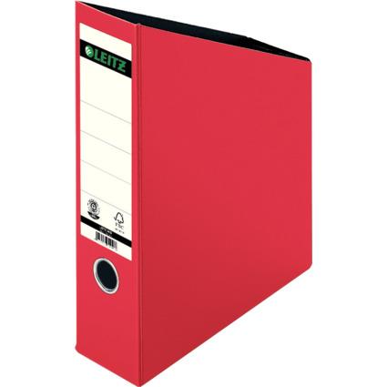 LEITZ Stehsammler, DIN A4, Hartpappe, rot