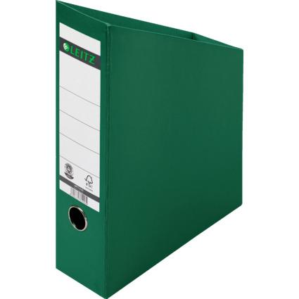LEITZ Stehsammler, DIN A4, Hartpappe, grün